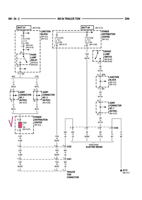 Dodge Ram Trailer Wiring Diagram Collection