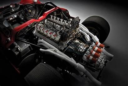 Ferrari 330 P4 1967 Engine Am 350