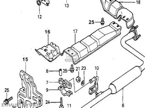 1980 Honda Accord Belt Diagram by Honda Accord 1980 A 4dr Dx Kl Ka Kh Parts Lists And