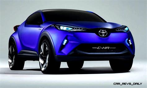 2014 Toyota C-hr Concept For Paris Previews Yaris Crossover
