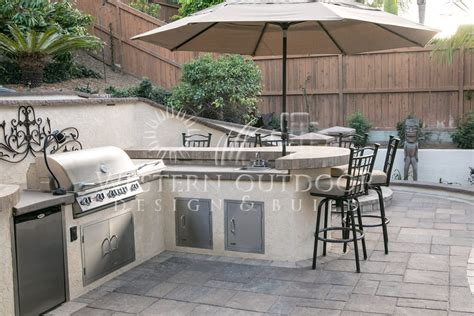 outdoor kitchen stucco finish stucco finish bbq islands outdoor kitchens gallery western with bbq island ideas plans 16