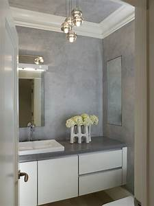 Beautiful powder room- who manufactures the pendant lights?