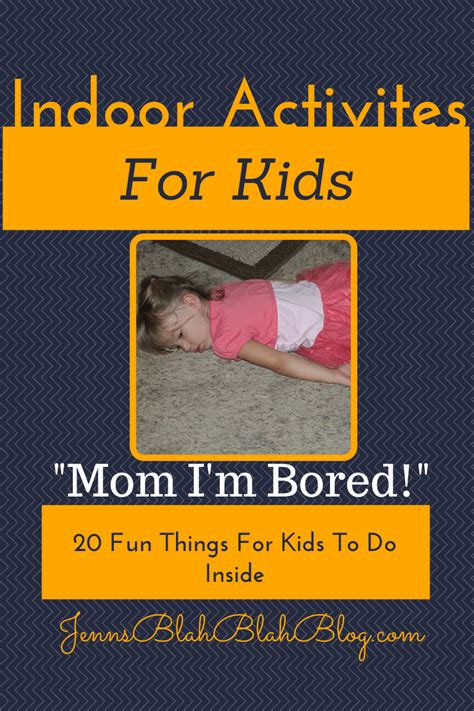 Indoor Activities For Kids 20 Fun Things For Kids To Do