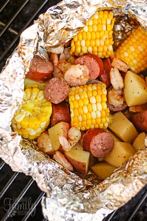foil packet cajun style grill foil packets favorite family recipe