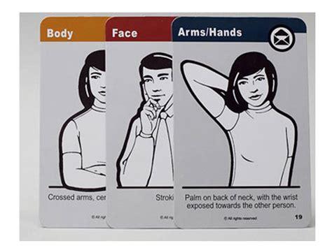 Nonverbal Communication Bodylanguagecards