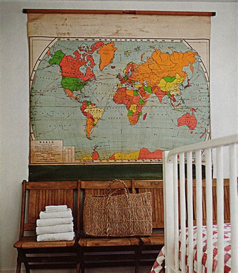 8 Unique And Fun Ways To Decorate With Maps