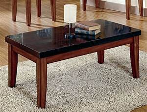 Granite coffee table design images photos pictures for Dark marble coffee table