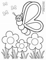 Butterfly Coloring Lots Printables sketch template