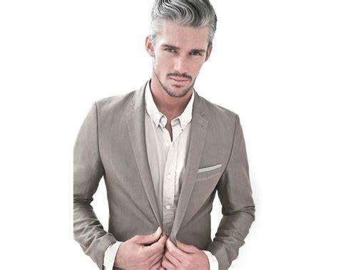 Silver Hair Dye Men Try Tint Medium Hair Styles Ideas