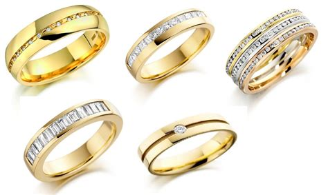 gold wedding band luxury gold rings for styler