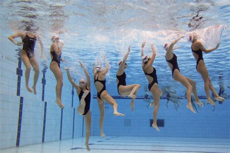 6th FINA Synchronised Swimming World Trophy – Training