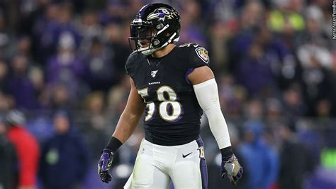 ravens sign linebacker lj fort   year extension