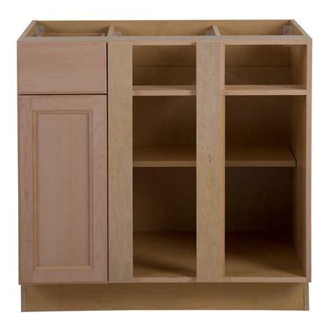 unfinished blind corner base cabinet hton bay assembled 36x24 5x34 5 in easthaven blind