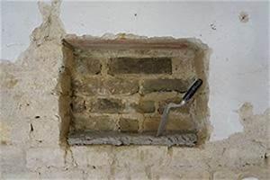 Großes Loch In Der Wand Reparieren : maurern wenn die w nde aus ziegel und m rtel bestehen anleitung tipps vom maurer bauen ~ Frokenaadalensverden.com Haus und Dekorationen