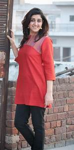 Red Kurta with Black Jeans (Fabindia) | Styling Jeans ...