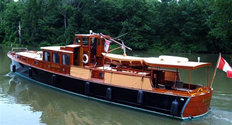 Large Punt Boat For Sale by Consolidated Commuter Yacht Dolphin