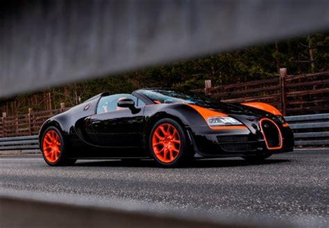 Bugatti Veyron Grand Sport Vitesse Is World's Fastest