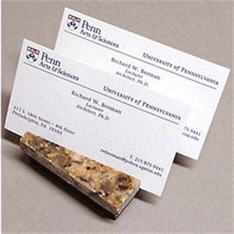2 slot compact granite business card holder findgift