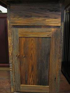 Barnwood kitchen cabinets benedict antique lumber and stone for Barnwood plywood