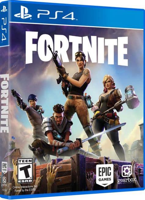 fortnite playstation game box capture
