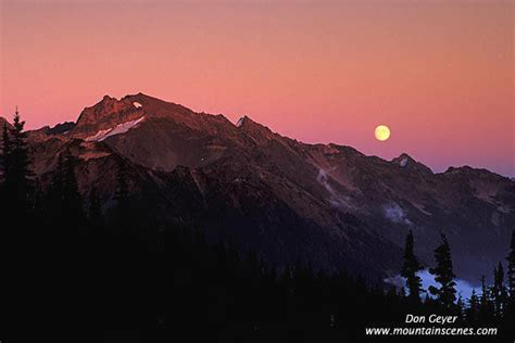 Mt. Carrie in Olympic National Park, prints, photos ...