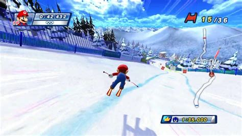 mario sonic   olympic winter games wii review