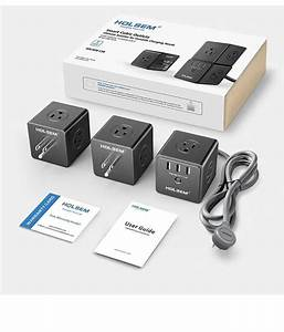 Ebay  Sponsored New Smart Cubic Surge Protector Outlets 3