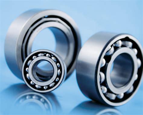 ball angular row contact bearings double slovakia zvl bearing axial filling