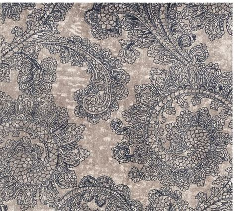 pottery barn rugs reviews pottery ravati paisley printed rug blue pottery barn