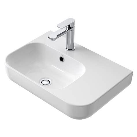 basins plumbing world caroma luna mm shelf basin