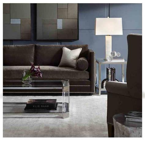 bardot sofa accent tables modern living room