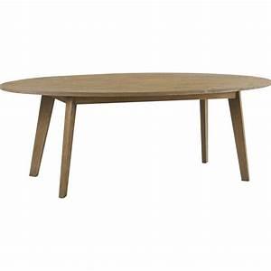 Table A Manger Ovale : table manger ovale en ch ne 230x100x78cm darwin hanjel ~ Melissatoandfro.com Idées de Décoration