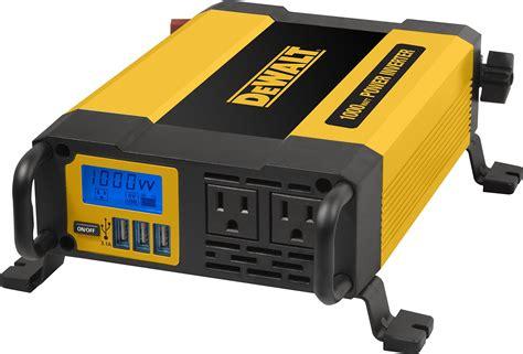 Dewalt Dxaepi Power Inverter Car Converter With