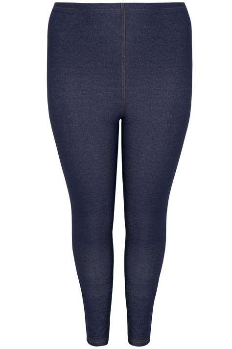 Date Post Jenny Template Responsive by Mid Blue Jersey Jenny Jeggings Plus Size 16 To 36