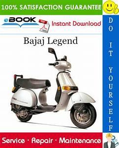 Best  U2606 U2606 Bajaj Legend Motorcycle Service Repair Manual