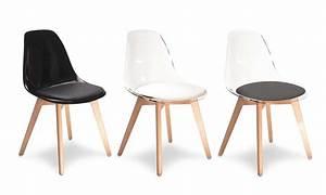 Coussin Pour Chaise Scandinave : chaises scandinaves transparentes groupon shopping ~ Dailycaller-alerts.com Idées de Décoration
