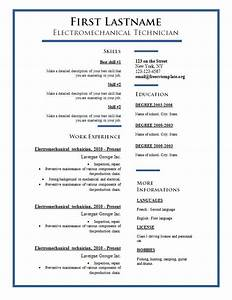 Free cv templates 275 to 281 free cv template dot org for Cv template word