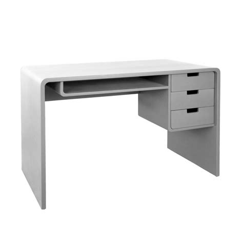 bureau gris bureau l65 gris clair laurette pour chambre enfant les