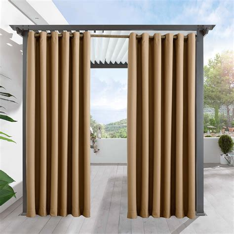 outdoor drape outdoor curtains for patio firsthomer privacy outdoor