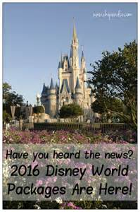 2016 walt disney world vacation packages are here