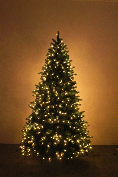 the ultra devonshire pre lit fir tree with warm white leds