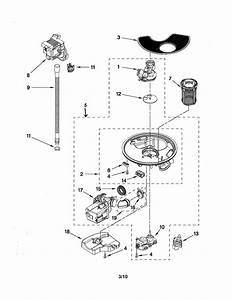 Pump And Motor Parts Diagram  U0026 Parts List For Model 66513263k112 Kenmore