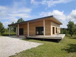 Maison En Bois Construction : maison contemporaine en ossature bois par evobois la maison bois par maisons ~ Melissatoandfro.com Idées de Décoration