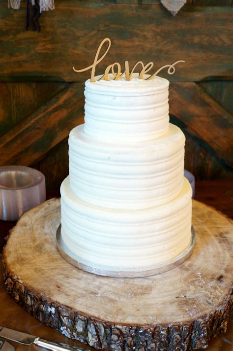 simple rustic wedding cake the baking