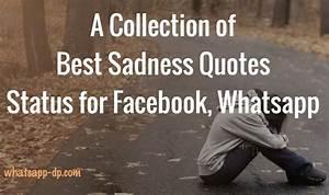 Sad Status: 333+ Best Short Sadness Quotes Status for FB ...