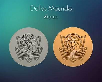 Dallas Mavericks Relief Logos Signs Models
