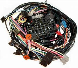 1979 Corvette Wiring Harness  Main Dash  With Either Power Windows And  Or Power Locks