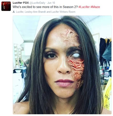 Lucifer Season2 Maze Oh No What Happened To Her Or