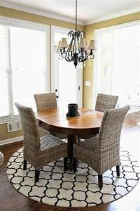 70 round dining tables that can totally transform any With dining room rug round table