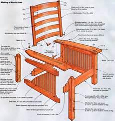 pdf morris chair plans pdf plans free
